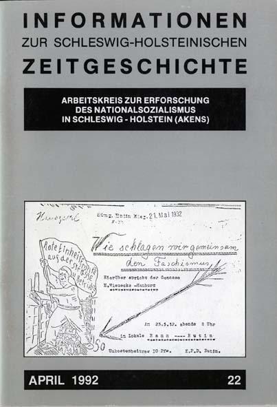 ISHZ 22 Titelbild: Flugblatt der Eutiner KPD im Mai 1932