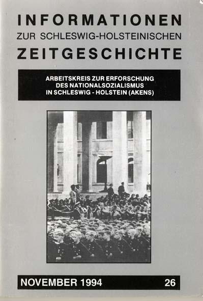ISHZ 26 Titelbild: Vorbeimarsch von NAPOLA-Schülern aus Plön vor Hitler und Mussolini in München 1937