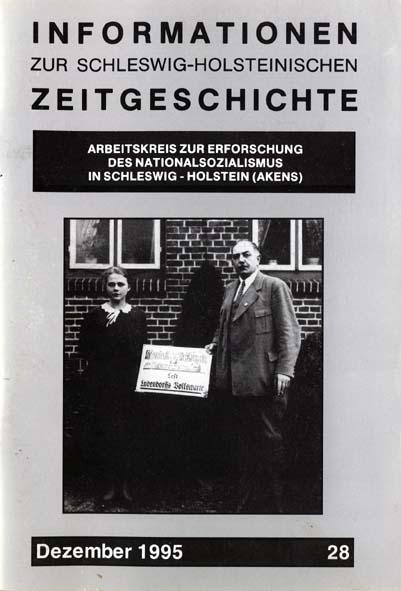 ISHZ 28 Titelbild: Mitarbeiter der Geschäftsstelle des Tannenbergbundes, Krogaspe August 1931