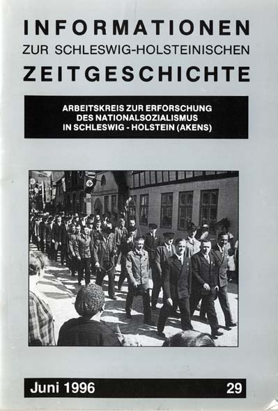 ISHZ 29 Titelbild: 1. Mai Umzug in Krempe im Nationalsozialismus, ohne Datum